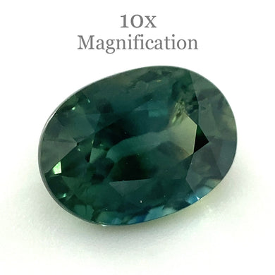 1.17ct Oval Teal Green Sapphire - Skyjems Wholesale Gemstones