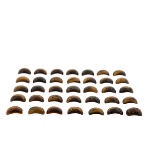 Tiger Eye 500cts 22st 26x16mm Saddle/Fancy Cut WHOLESALE LOT - Skyjems Wholesale Gemstones