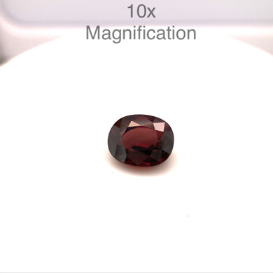 2.45ct Cushion Red Zircon - Skyjems Wholesale Gemstones