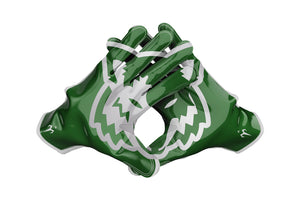 Green Canyon Football Gloves