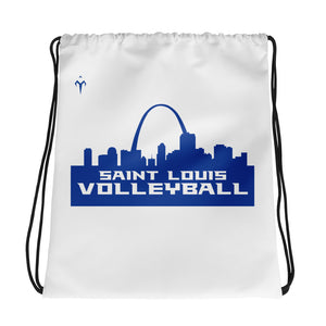 St. Louis Volleyball Drawstring bag