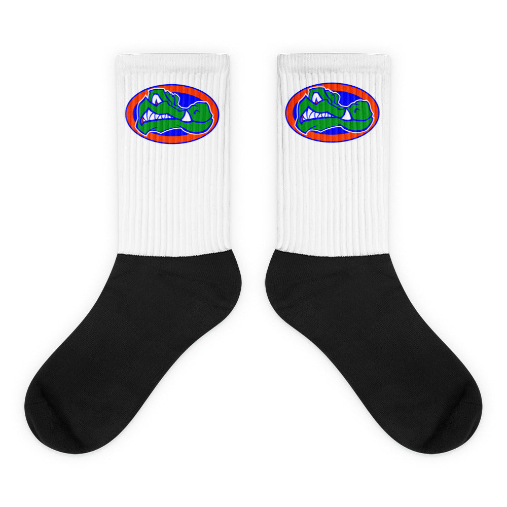 Green Gators Socks