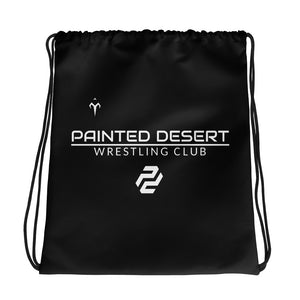 Painted Desert Wrestling Club Drawstring bag