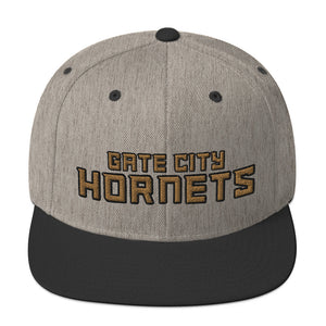 Gate City Hornets Football Snapback Hat