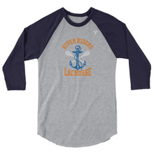 River Riders Lacrosse 3/4 sleeve raglan shirt