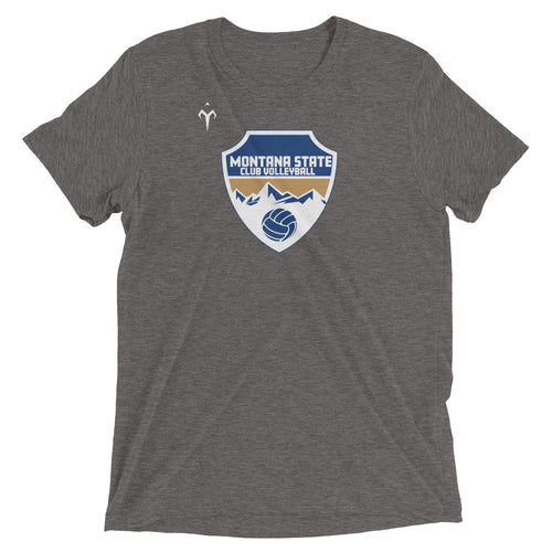 Montana State Club Volleyball Short sleeve t-shirt