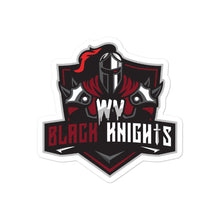 West Virginia Black Knights Bubble-free stickers