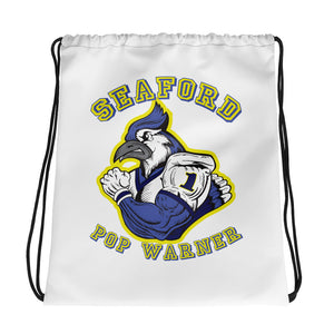 Seaford Pop Warner Drawstring bag