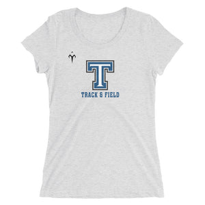Tempe High School Track and Field Ladies' short sleeve t-shirt