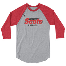 Fighting Scots Baseball 3/4 sleeve raglan shirt