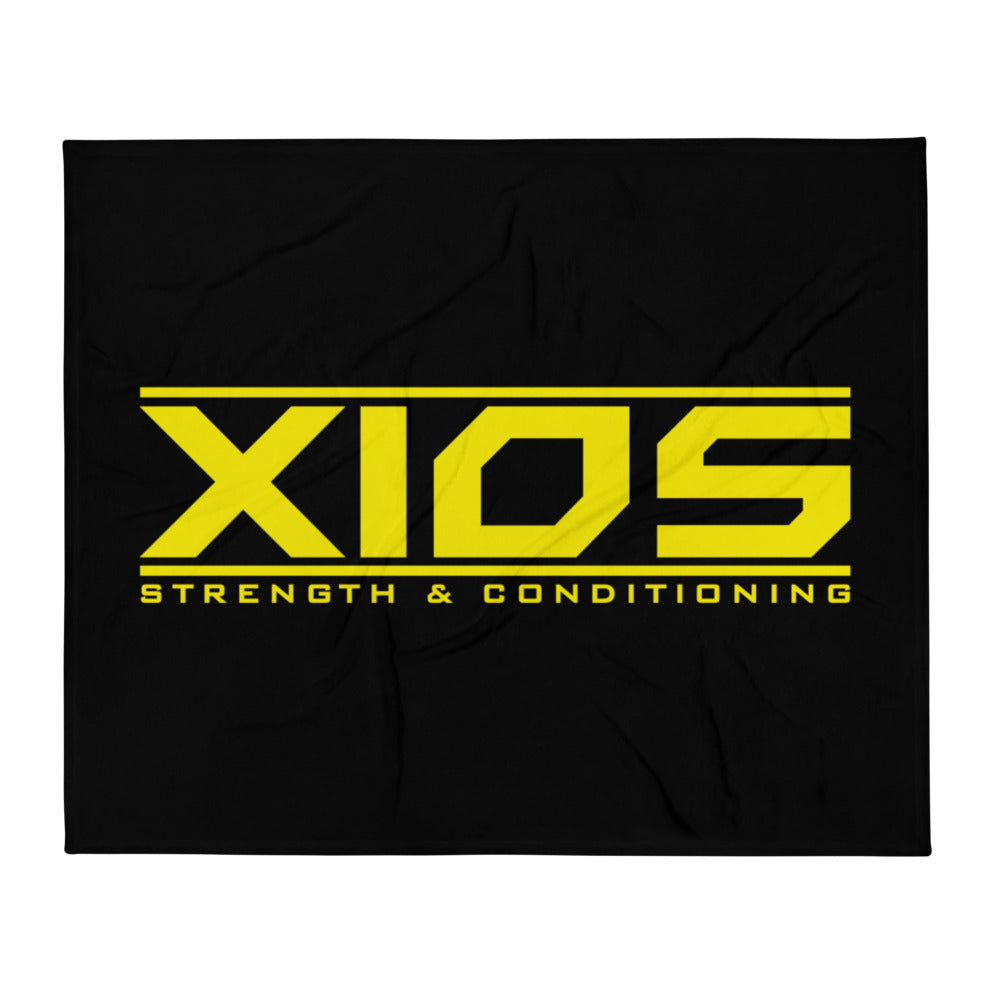 XIOS Strength & Conditioning Throw Blanket