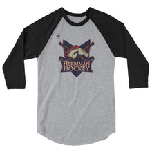 Herriman Hockey 3/4 sleeve raglan shirt