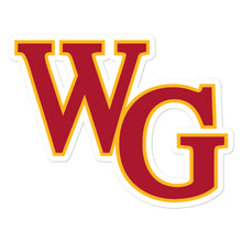 Willow Glen Softball Bubble-free stickers