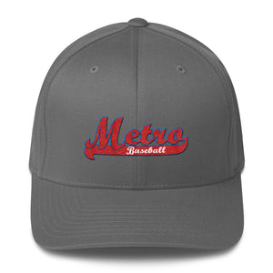 Metro Baseball Structured Twill Cap