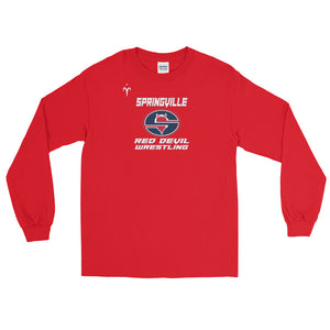 Springville Wrestling Men's Long Sleeve Shirt
