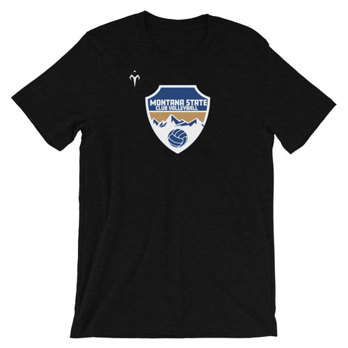 Montana State Club Volleyball Short-Sleeve Unisex T-Shirt