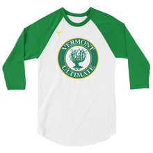 Vermont Ultimate 3/4 sleeve raglan shirt