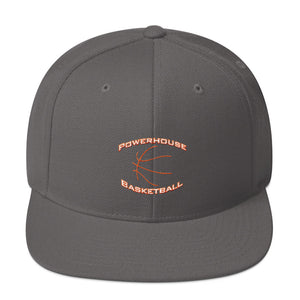 Powerhouse Basketball Snapback Hat