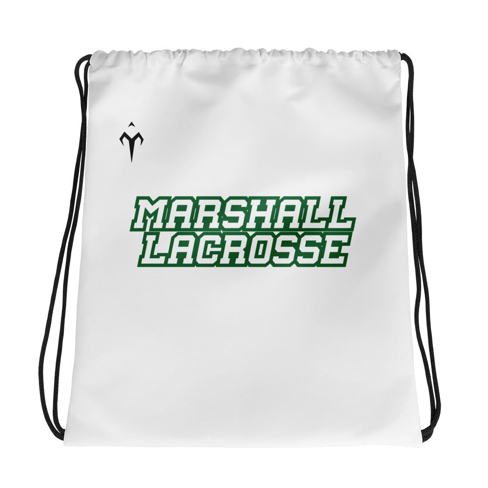 Marshall Lacrosse Drawstring bag
