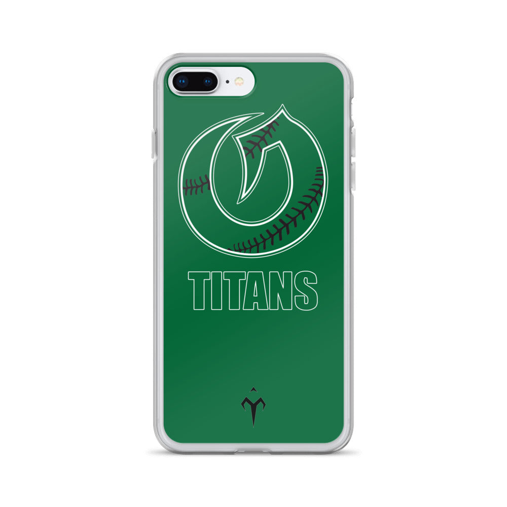 Olympus Softball iPhone Case
