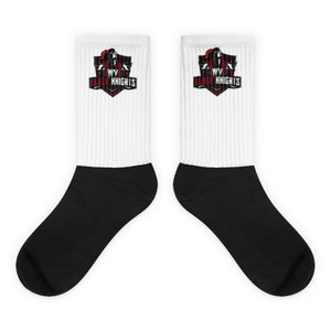 West Virginia Black Knights Socks