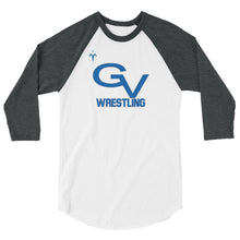 Gunnison Valley Wrestling 3/4 sleeve raglan shirt