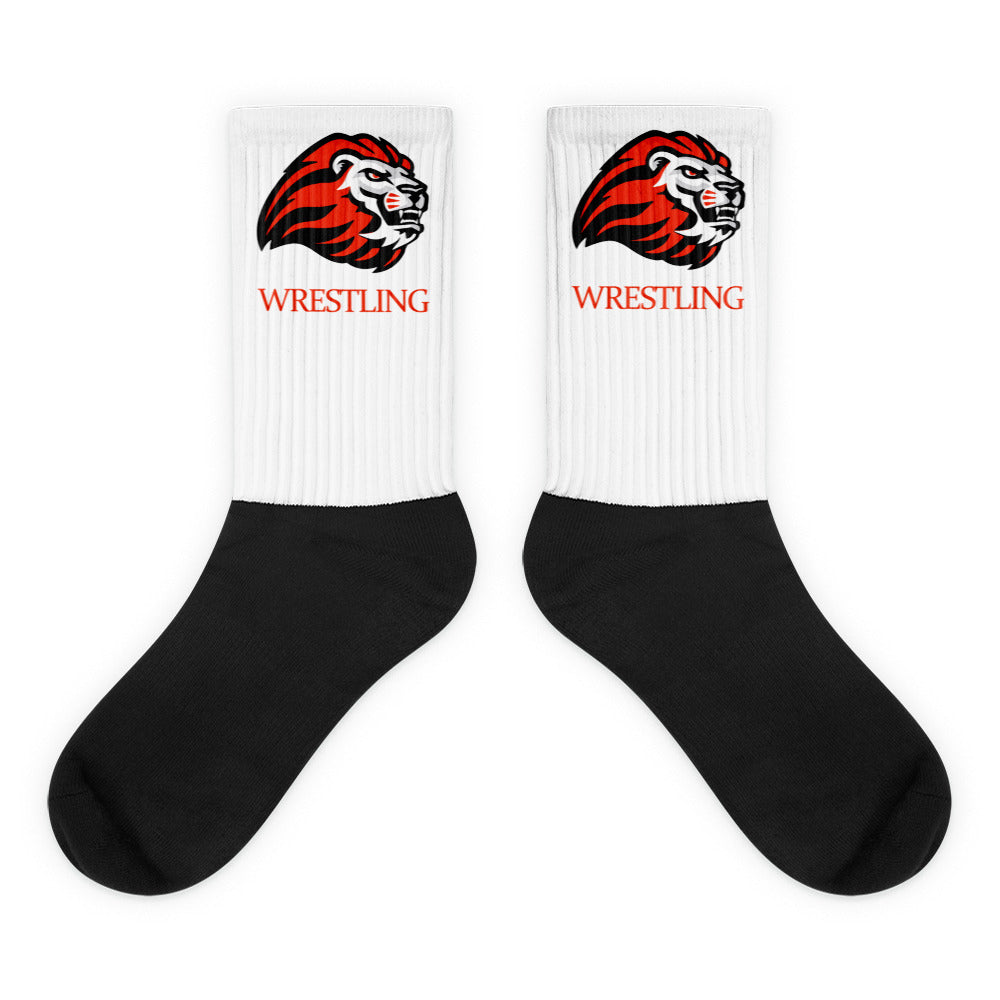 Kerman Wrestling Black foot socks