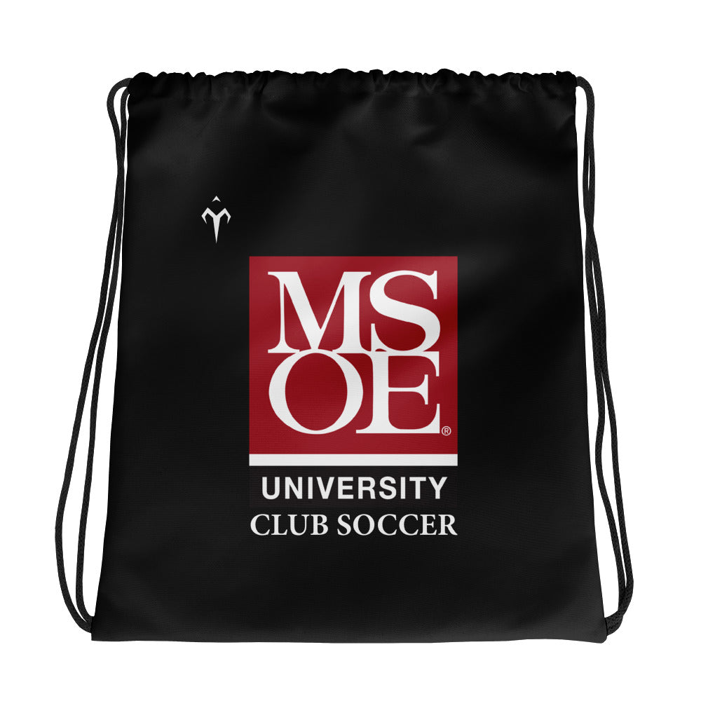 MSOE Club Soccer Drawstring bag