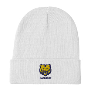 UNCO Lacrosse Embroidered Beanie