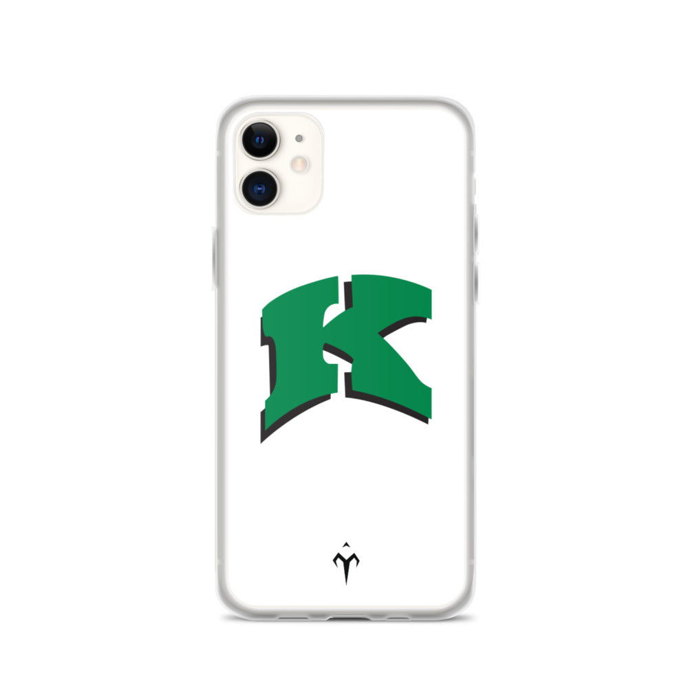 Kewaskum High School Volleyball iPhone Case