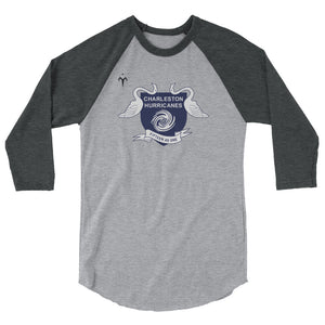 Charleston Hurricanes 3/4 sleeve raglan shirt