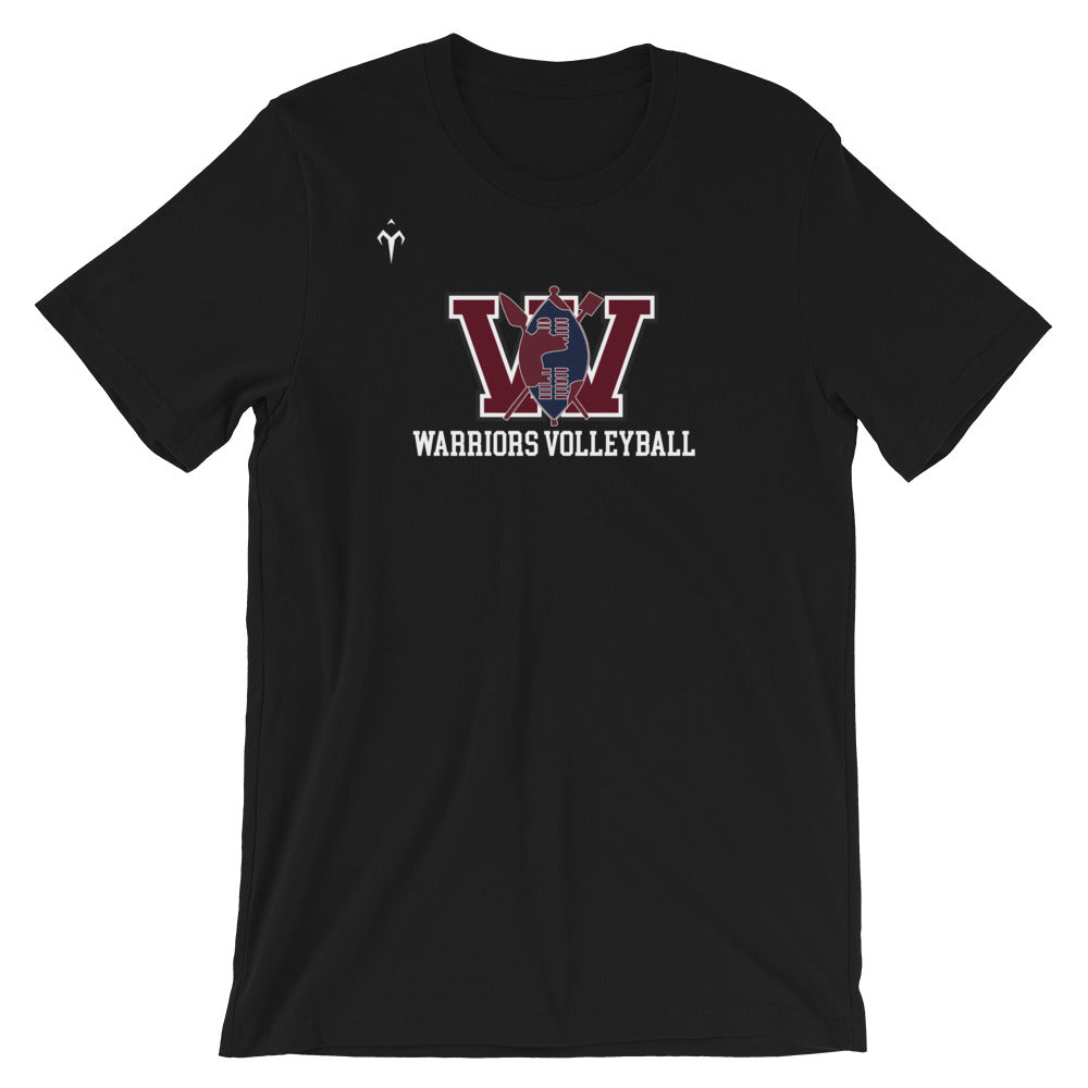 UCW Warriors Volleyball Short-Sleeve Unisex T-Shirt