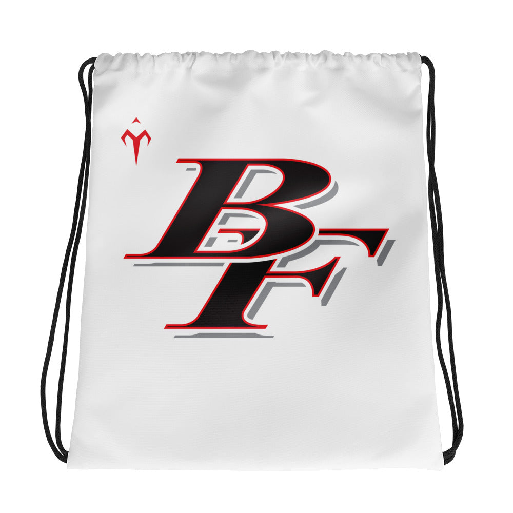 Big Foot Wrestling Drawstring bag