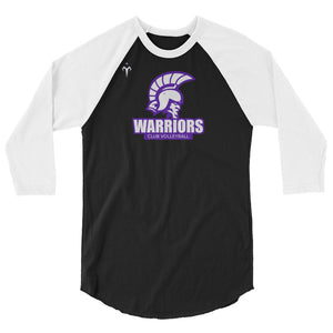 WSU Club Volleyball 3/4 sleeve raglan shirt