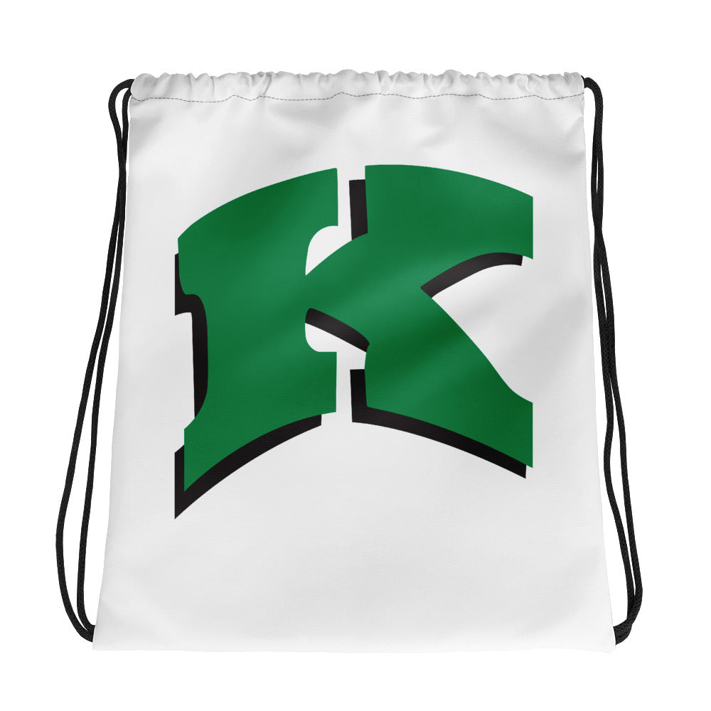 Kewaskum High School Volleyball Drawstring bag