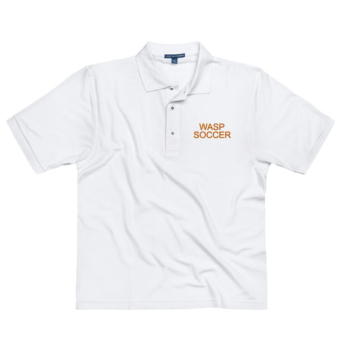 Wasp Soccer Men's Premium Polo