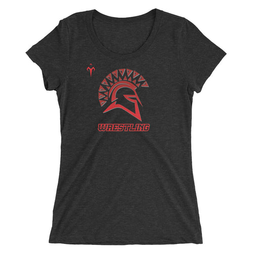 San Juan Wrestling Ladies' short sleeve t-shirt
