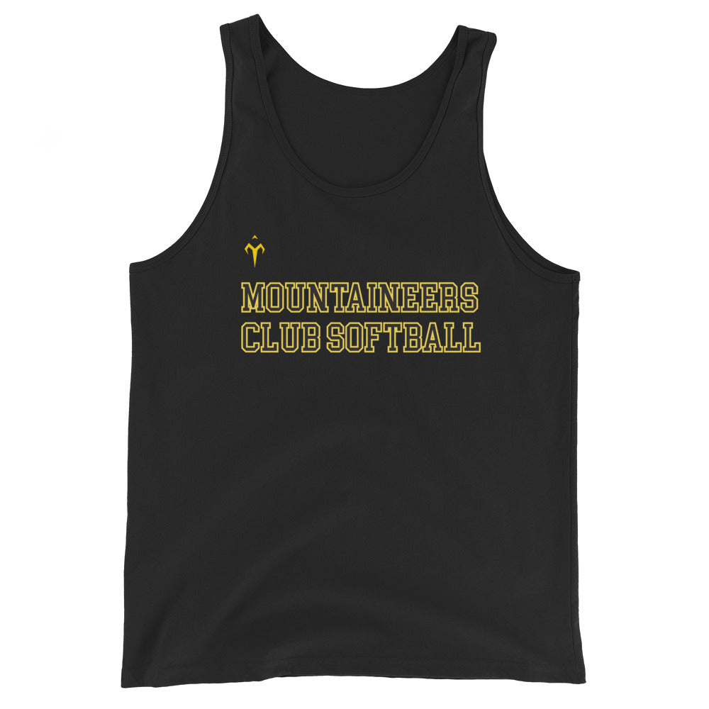 Mountaineers Club Softball Unisex Tank Top