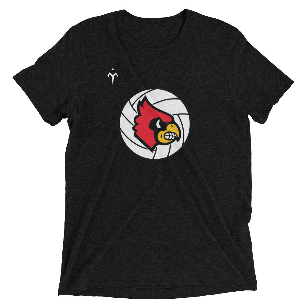 Louisville Volleyball Short sleeve t-shirt