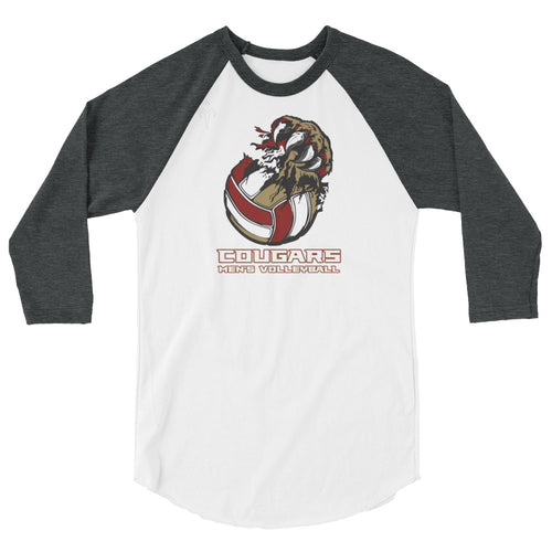 CofC Men's Volleyball 3/4 sleeve raglan shirt