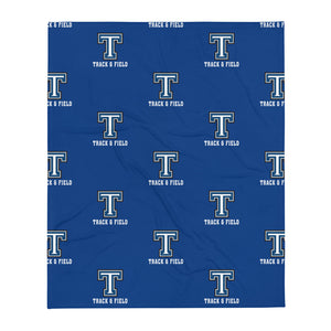 Tempe High School Track and Field Throw Blanket