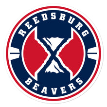 Reedsburg Beavers Soccer Bubble-free stickers