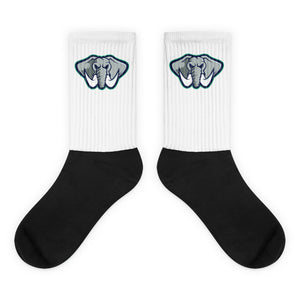 South Side Black foot socks