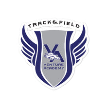 Venture Academy Track and Field Bubble-free stickers