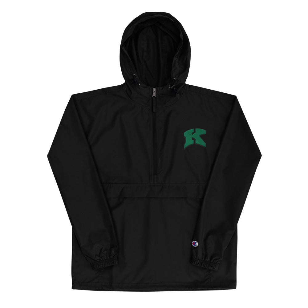 Kewaskum High School Volleyball Embroidered Champion Packable Jacket