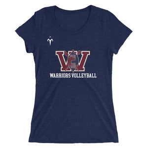 UCW Warriors Volleyball Ladies' short sleeve t-shirt