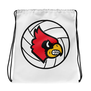 Louisville Volleyball Drawstring bag