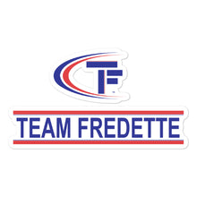 Team Fredette Basketball Bubble-free stickers
