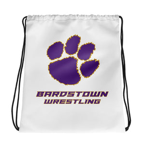 Bardstown Wrestling Drawstring bag