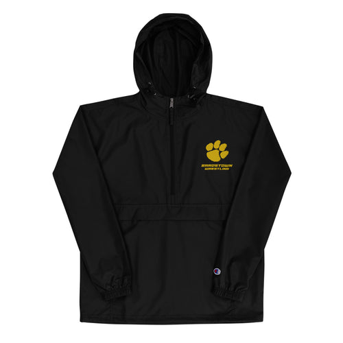 Bardstown Wrestling Embroidered Champion Packable Jacket